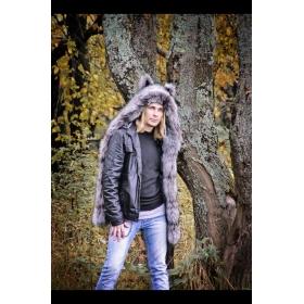 Волкошапка чернобурка мужская