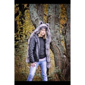 Волкошапка чернобурка
